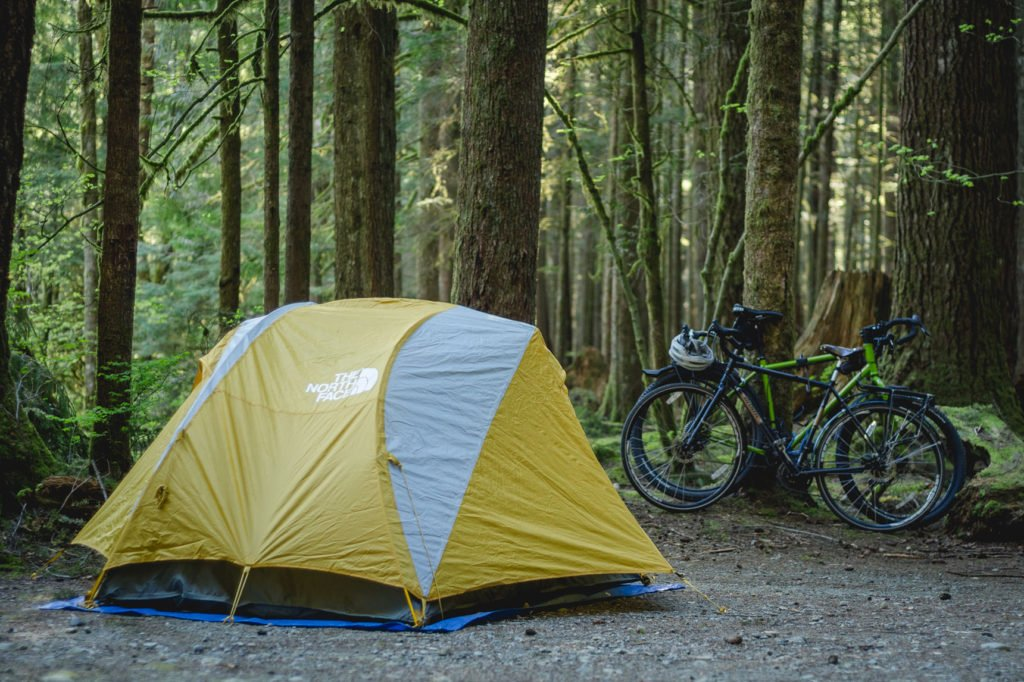 Camping in Gold Creek Campground